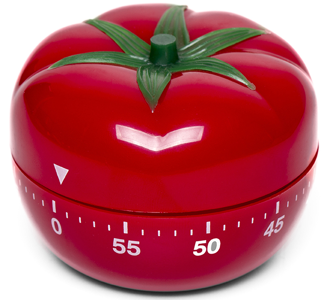 tomato kitchen clock timer