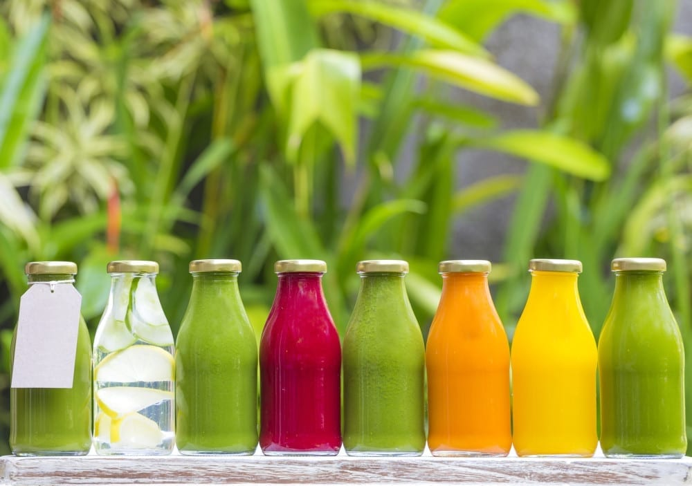 get healthy for ADHD, Organic cold-pressed raw vegetable juices