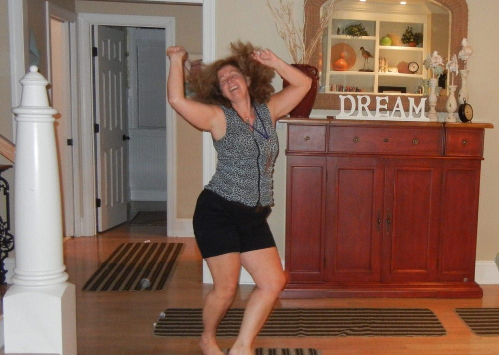 Dancing fun joy at an ADDiva Retreat, Exclusively for Women with ADHD